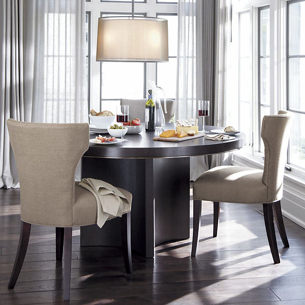 22 space saving furniture ideas for Round space saving dining table and chairs
