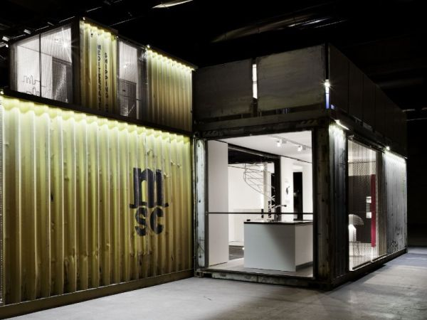 Shipping container homes designed with an urban touch - Casa container italia ...