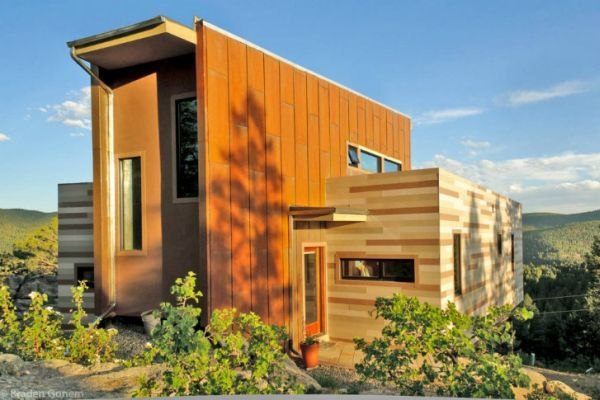 Shipping Container Home in Colorado