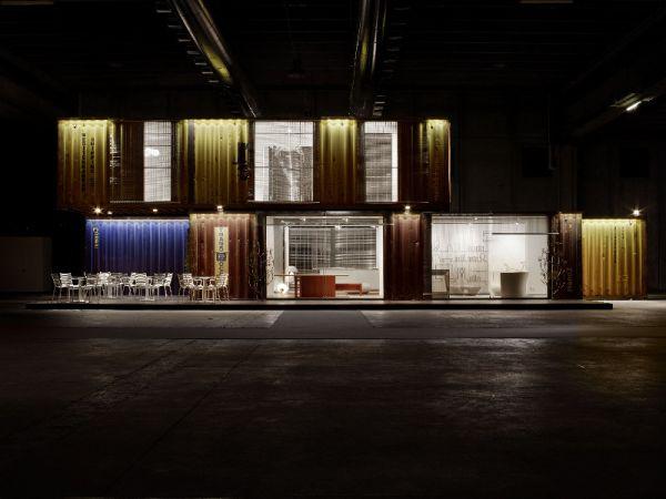 Shipping Container home exudes Italian flair