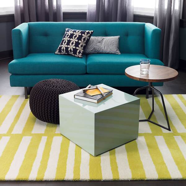 Side table doubles as a stool