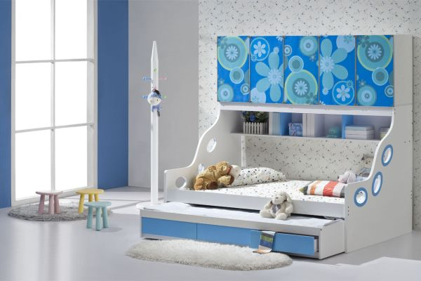 24 cool trundle beds for your kids room Futon for kids room