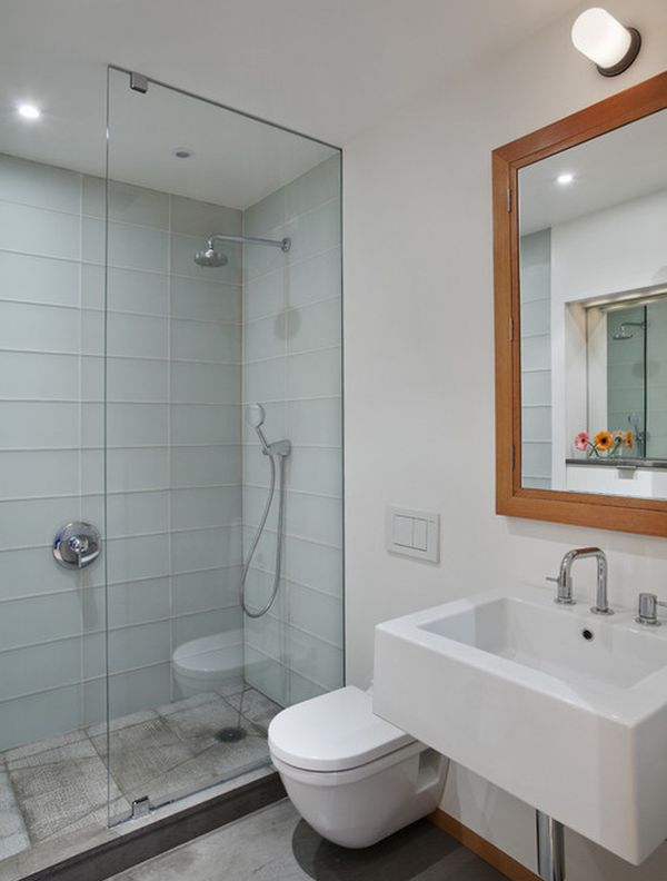 Modern Apartment Bathroom 25 glass shower doors for a truly modern bath