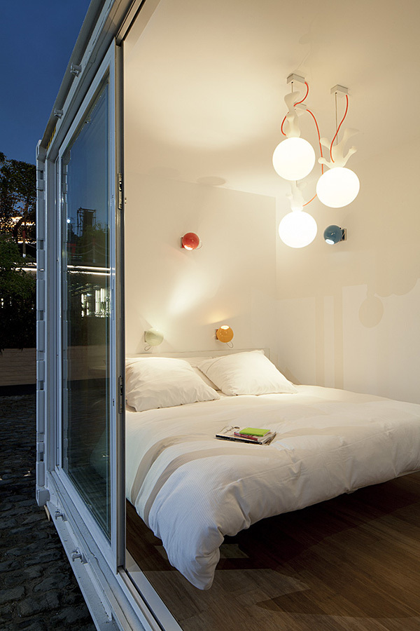 Sleeping Around Shipping Container Hotel