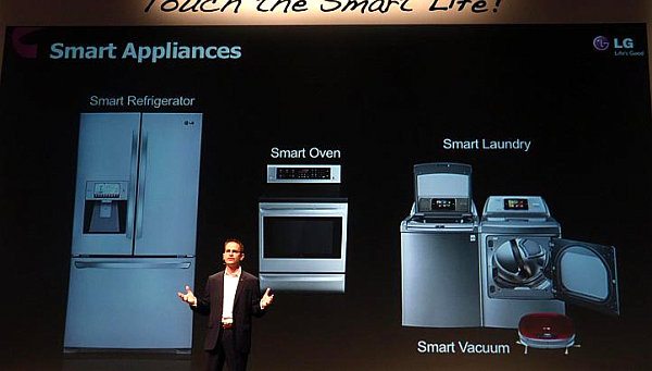 Smart appliance lineup from LG