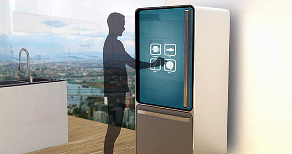 Smart fridge by Yanko Design