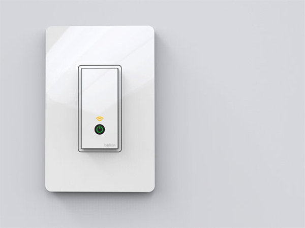 Smart light switch from WeMo