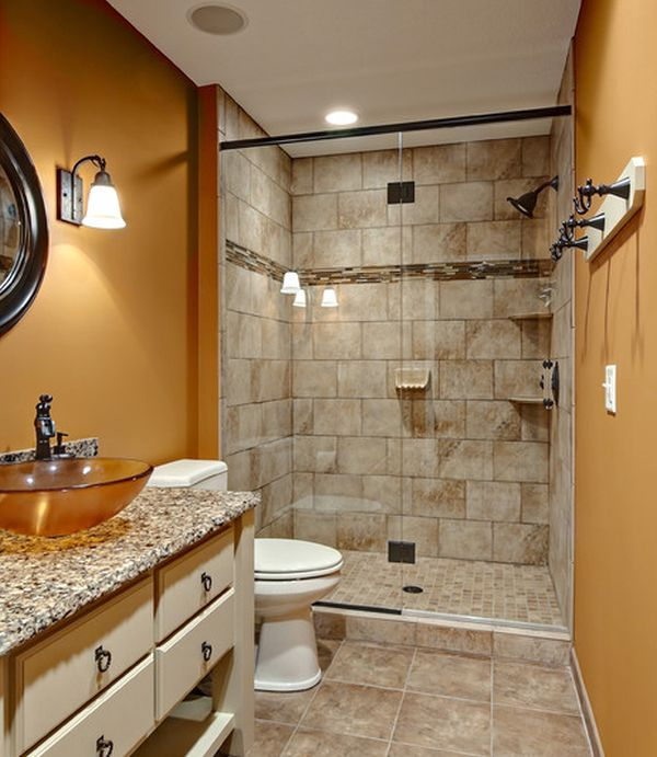 Small Bathroom No Shower Door 25 glass shower doors for a truly modern bath