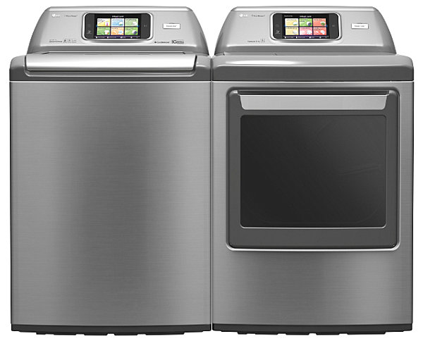 Smart washer and dryer from LG