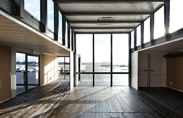 Spacious and well-lit rooms make up the container homes