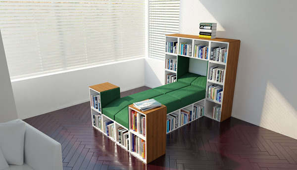 Storage-maximizing bed