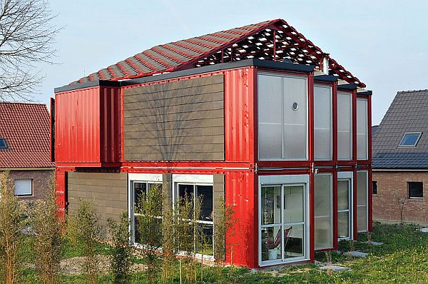 Houses Made From Shipping Containers 600 x 398