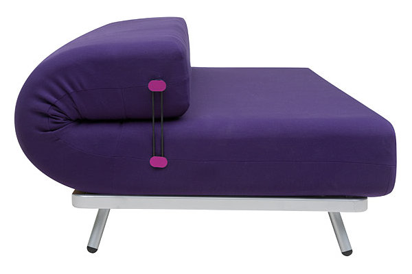 Unusual convertible couch-bed by Karim Rashid