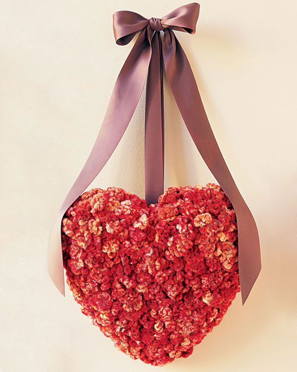 Valentine's Day Wreath is filled with scarlet glee