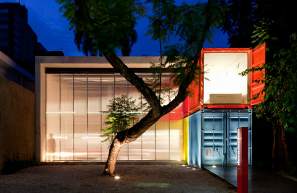 Vivacious Shipping Container Homes by Marcio Kogan