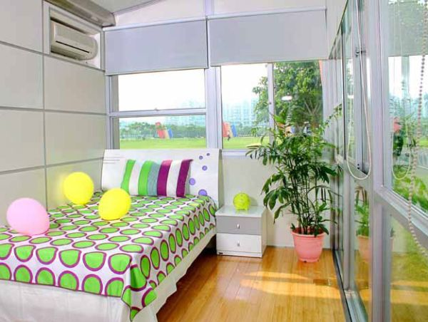 Winghouse- A colorful bedroom perfect for the kids