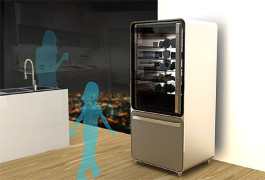 Yanko Design's smart fridge