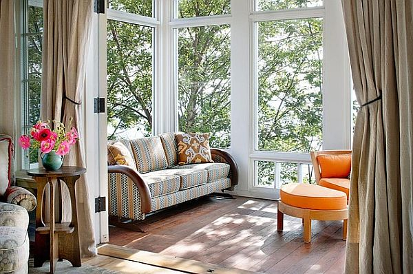 Choosing sunroom furniture to match your design style Solarium design