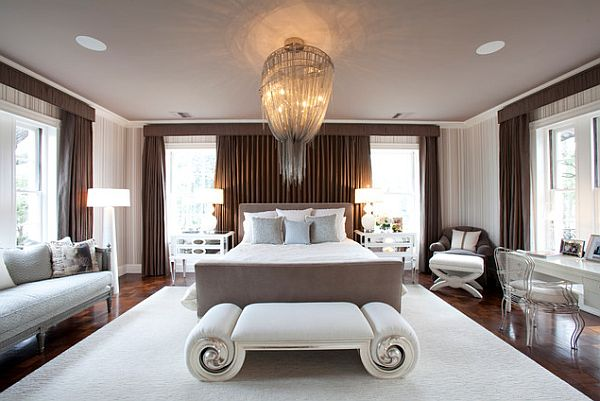View in gallery Art deco bedroom design