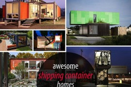 25 Shipping Container Homes & Structures Designed With an Urban Touch