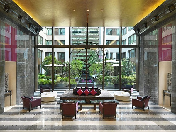 beautiful lobby