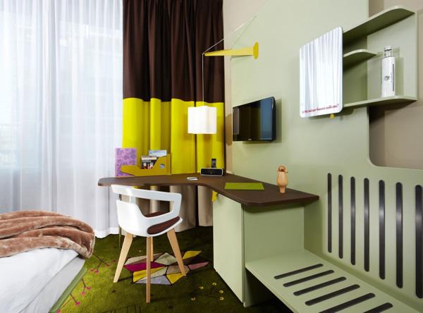 beautiful room office with corner desk