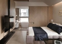 Small Apartment Design Overcomes Space Problems & Clutter in Style