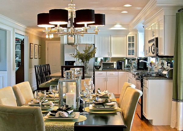 View In Gallery Black Dining Light Fixture