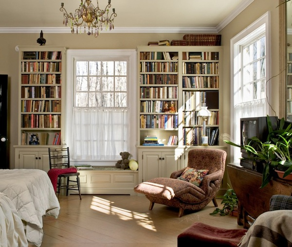 Bedroom bookshelf katie alberts Bookshelves in bedroom ideas