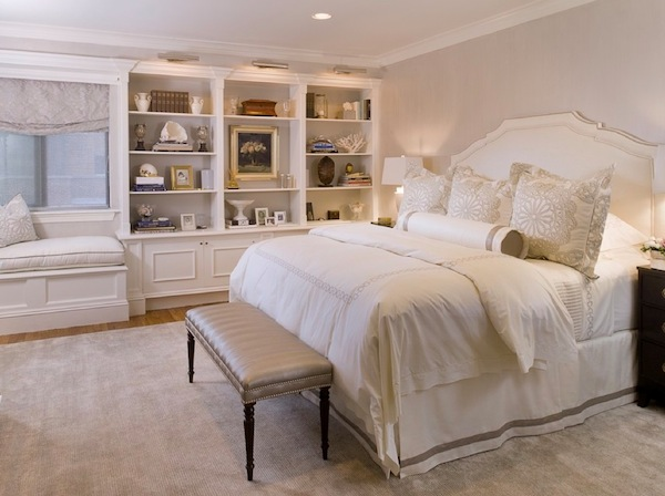 Inspiring built in bookshelves for more functional storage - Beautiful bedroom built in cupboards ...