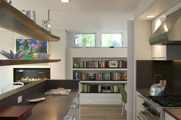 builtin bookshelves hallway Inspiring Built in Bookshelves For More Functional Storage