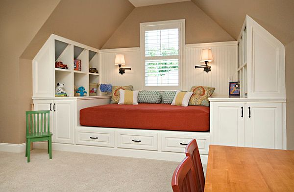 Nook bed in a child's room
