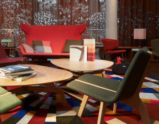 25 Hours Hotel in Zurich Charms With Bright and Brilliant Interiors