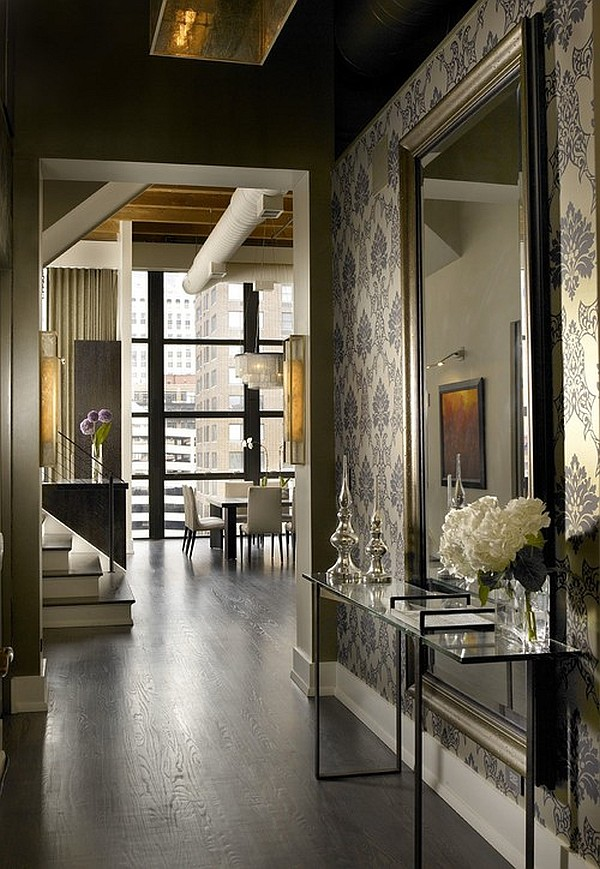 Contemporary entryway design ideas for Apartment foyer ideas