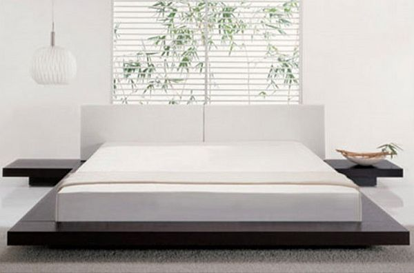 contemporary style platform bed Easy to Build DIY Platform Bed Designs
