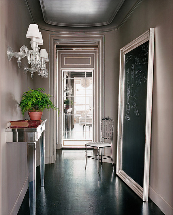 Foyer Designs Ideas entryway decorating ideas 2016 View In Gallery Cool Contemporary Entryway With A Retro Feel