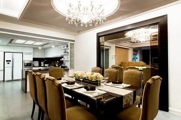 dining room elegant setup