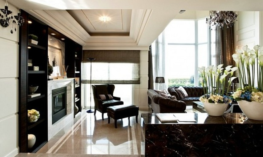 Extravagant Home Design Crafted with Refined Taste