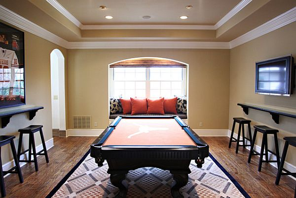 Rec room design ideas for some fancy time at home - Family game room ideas ...