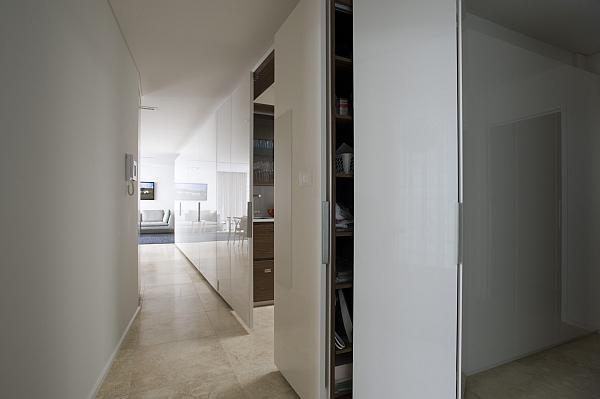 hidden kitchen design. View in gallery hidden kitchen design idea Small Space Solutions  Hidden Kitchen from Minosa Design