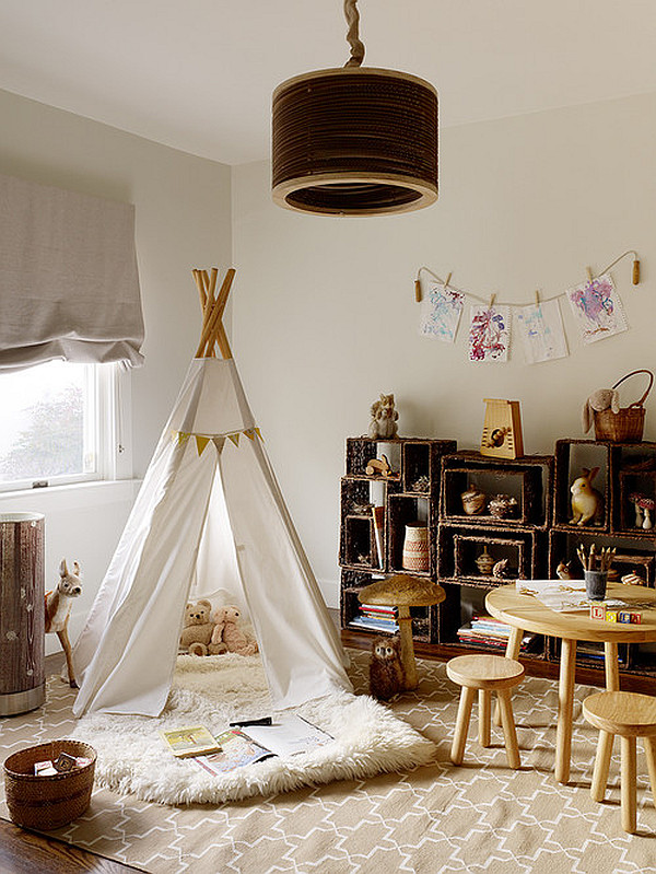 Your kid's bedroom could use a tent to add to its playfulness