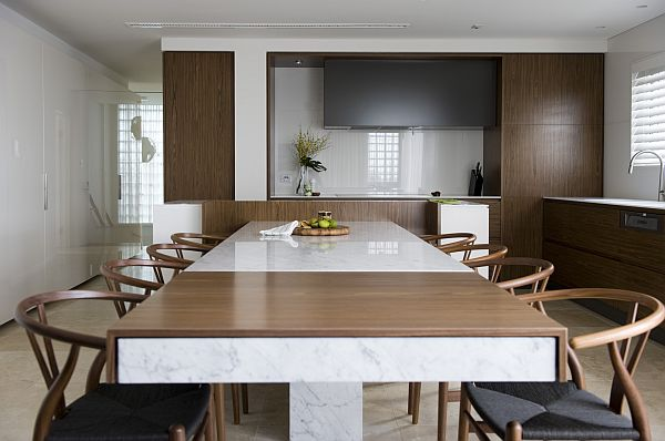 Latest View In Gallery Kitchen Table With Double With Esstisch Design Modern