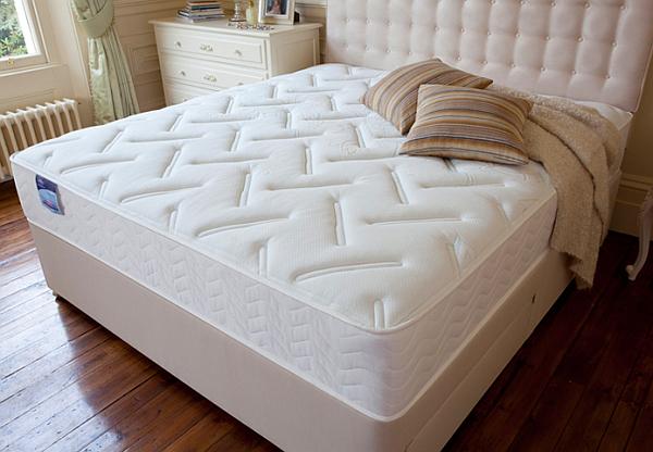 large spring mattress