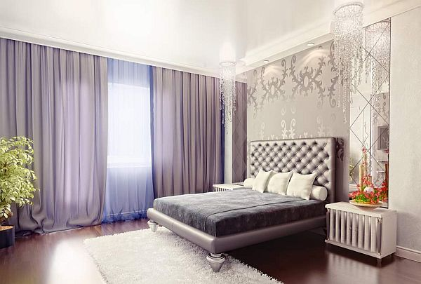 Luxury art deco bedroom design decoist for Art deco bedroom designs