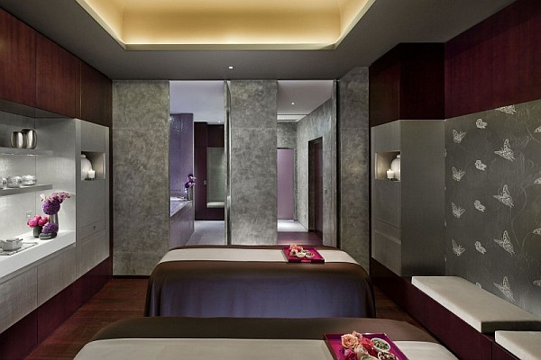luxury massage room