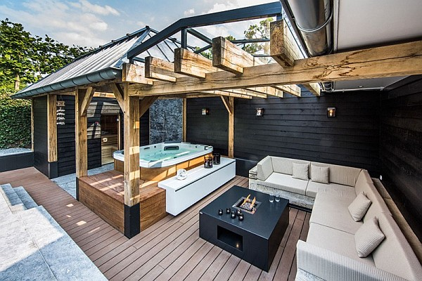 luxury patio