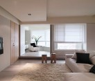 minimalist bright apartment