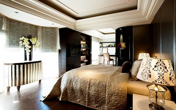 modern and chic bedroom design