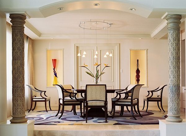 View in gallery Modern art deco dining room chairs