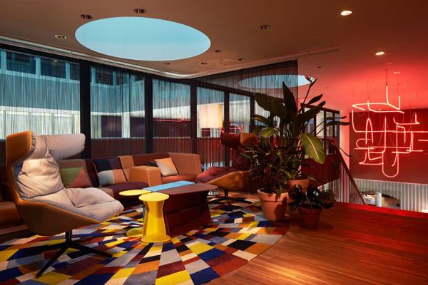 modern hotel in switzerland